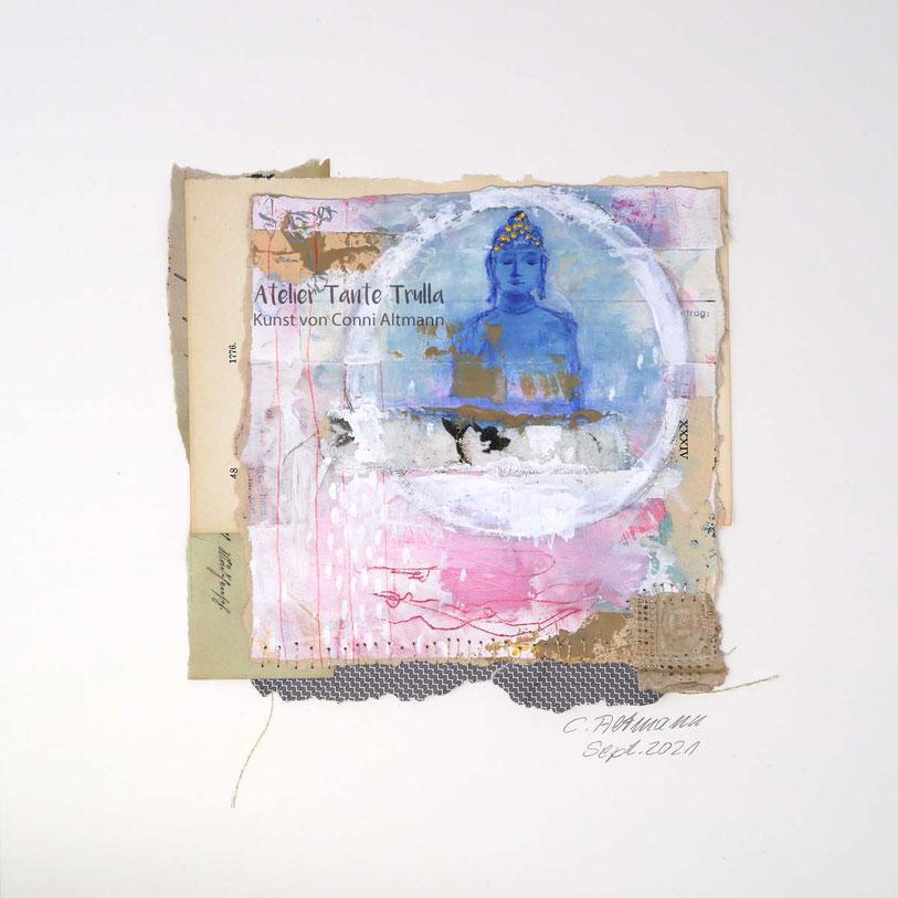 Buddha painting, www.ateliertantetrulla.de
