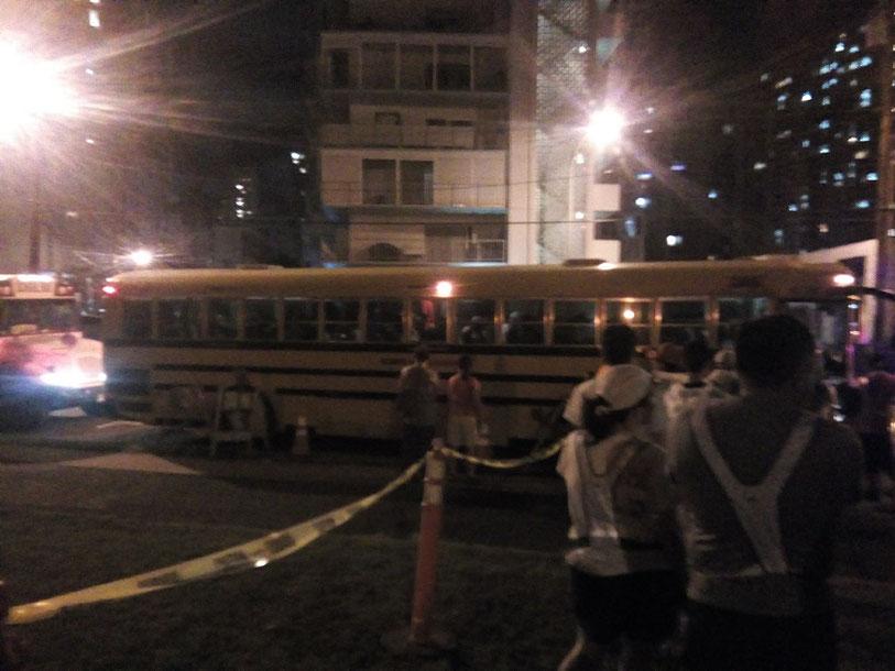 シャトルバスホノルルマラソン