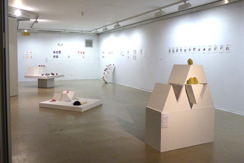 JC FAREY Vue d'exposition Recherches 19 TAMAT Tournai