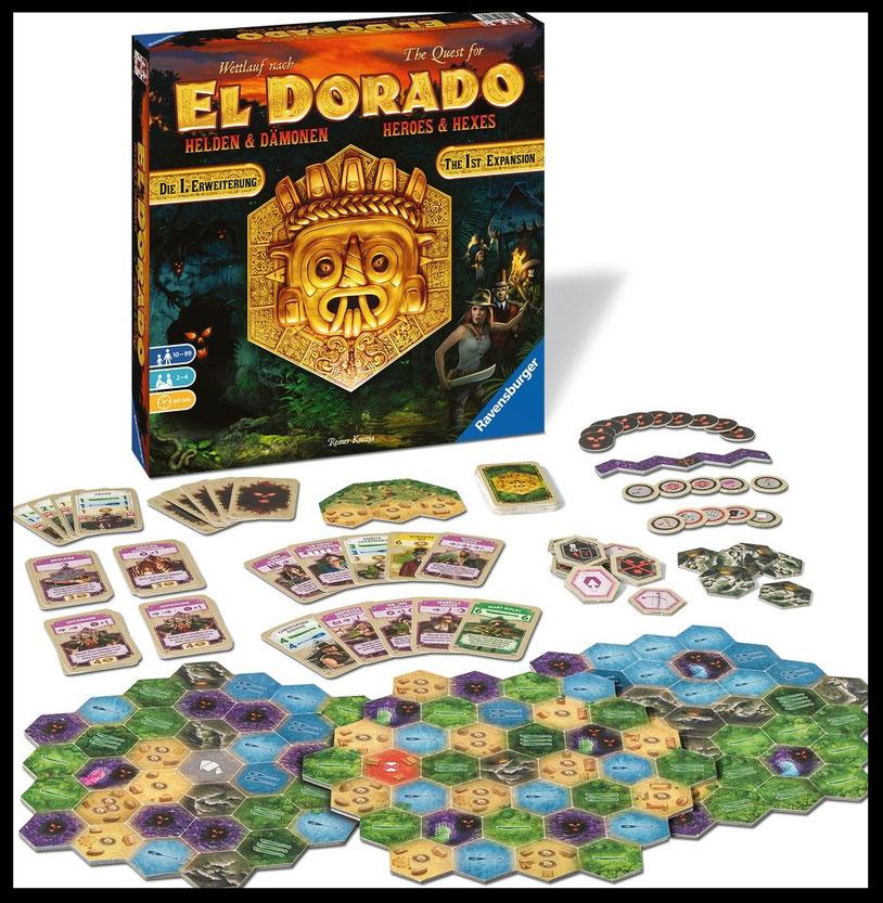 Wettlauf nach El Dorado: Helden und Dämonen News
