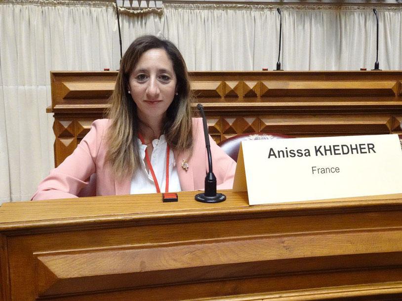 Anissa KHEDHER à l'Assemblée parlementaire de l'OTAN