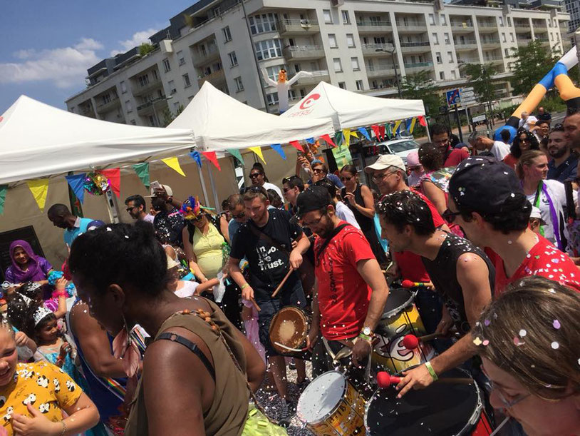Final du Carnaval avec Badala et la batucada Zé Samba