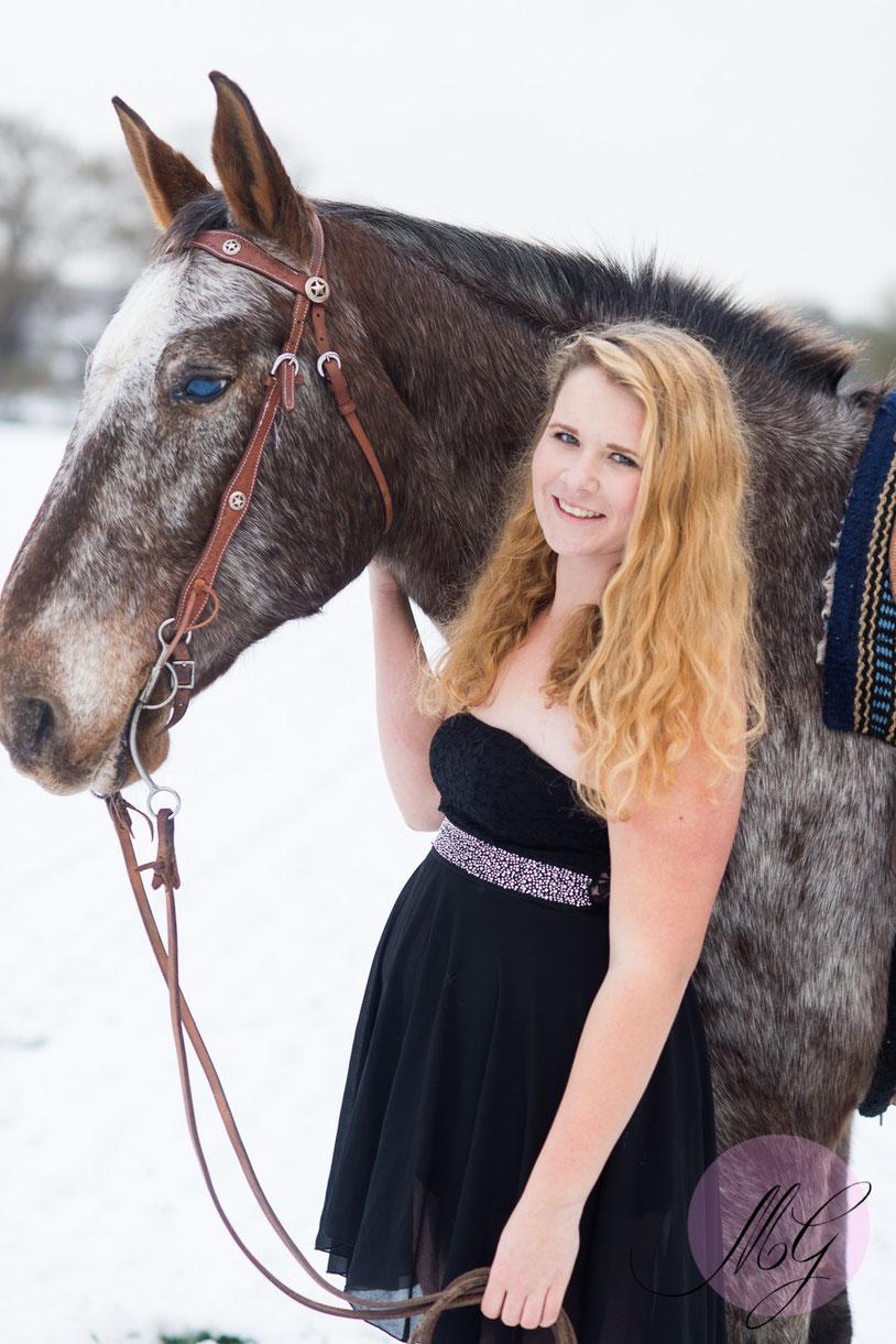 Pferdefotos, Fotograf, Jasmin Baldauf, Portrait,Mine im Glück