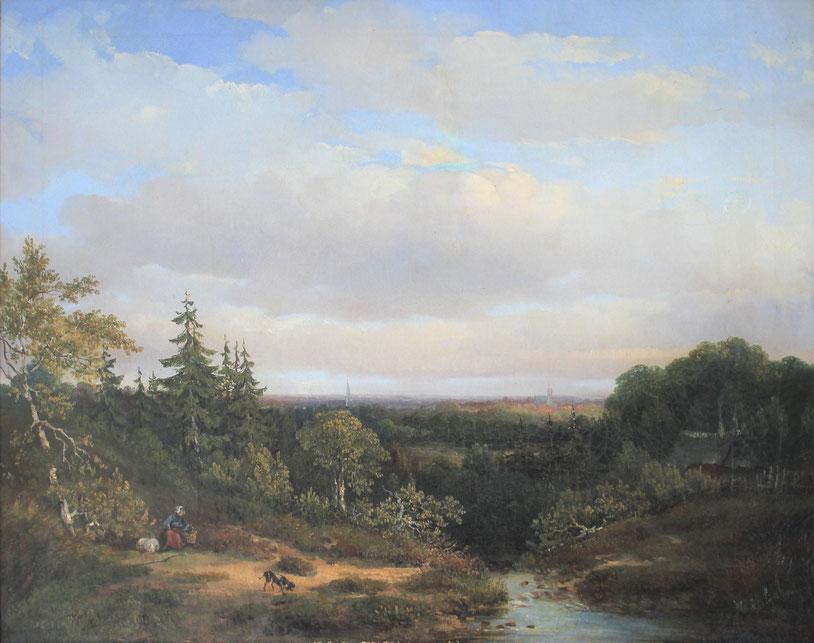 te_koop_aangeboden_een_landschaps_schilderij_van_de_nederlandse_kunstschilder_hermanus_jan_hendrik_rijkelijkhuysen_1813-1883_hollandse_romantiek