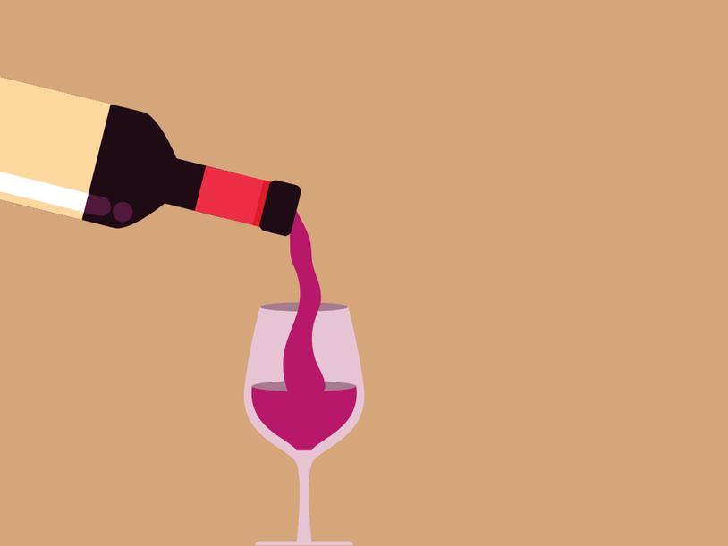 Meine fast täglichen Selbstlieberoutinen Abends Rotwein