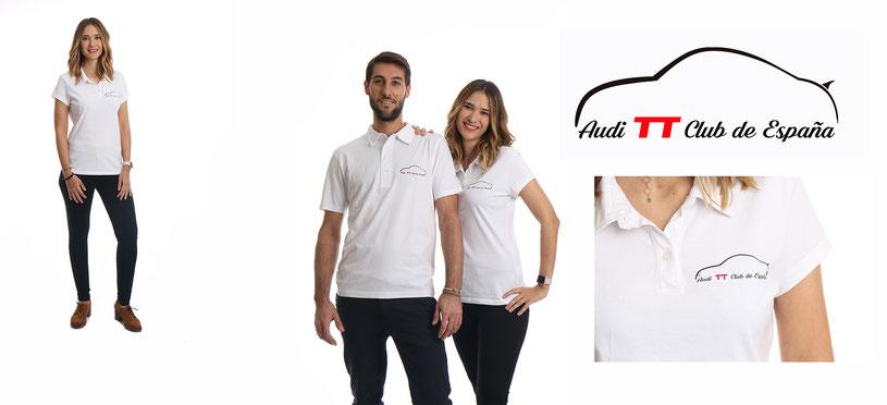 #Audi TT Club de España, #Audi #polosconswarovski #camisetas con swarovski, #swarovski, #Barcelona #Bcn #handmade #exclusive #luxury #ropa swarovski #logo #swarovski #camiseta swarovski #polo swarovski