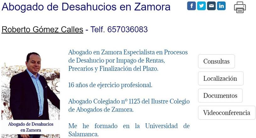 Abogado de Desahucios en Zamora