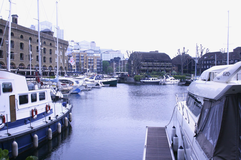 London UK ofpenguinsandelephants Sunday Sightseeing Stroll through London St Katharine docks
