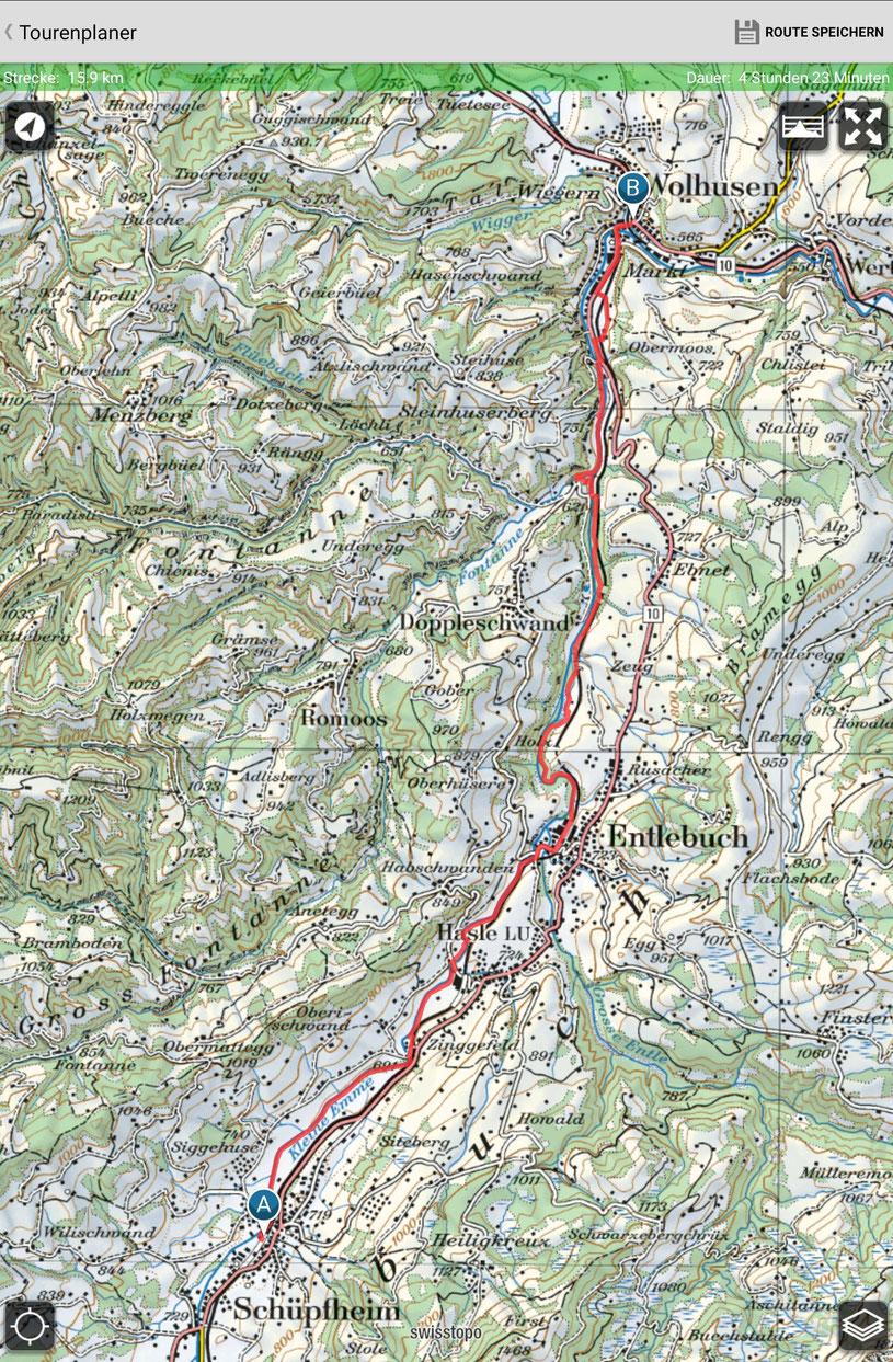 Schüpfheim - Entlebuch  - Wolhusen