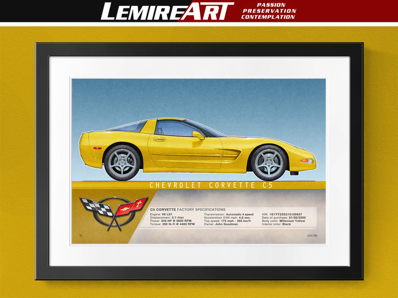 Corvette C4 coupe, Corvette C4 convertible