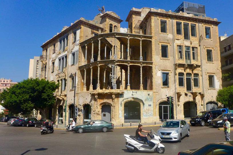Bakarat Building Gelbes Haus Beit Beirut Stadtmuseum Beirut Beit Beirut Libanon