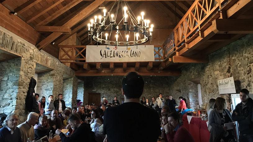 CastleCamp:Tourismus 2018 – Tag 1 live aus Kaprun