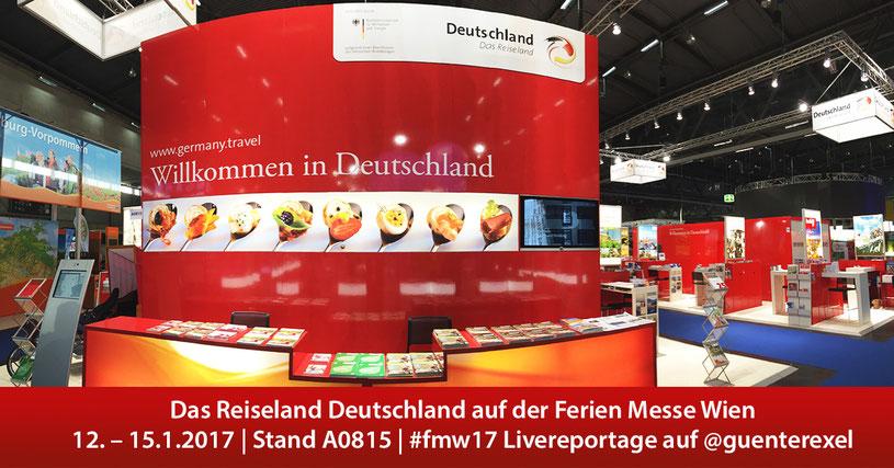 Livereportage: Reiseland Deutschland auf der Ferienmesse Wien 2017