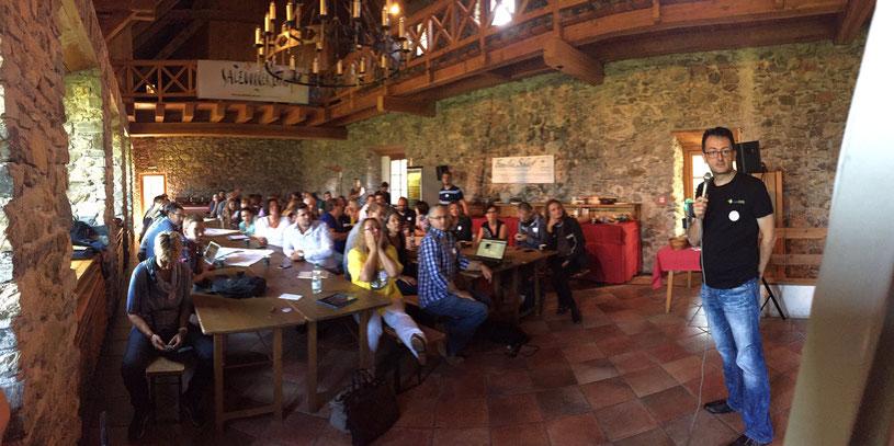 CastleCamp:Tourismus 2016 – Tag 2 live aus Kaprun