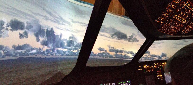 Ein Abend mit Ruefa Fernreisen im Flugsimulator
