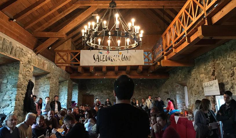 CastleCamp:Tourismus 2017 – Tag 2 live aus Kaprun