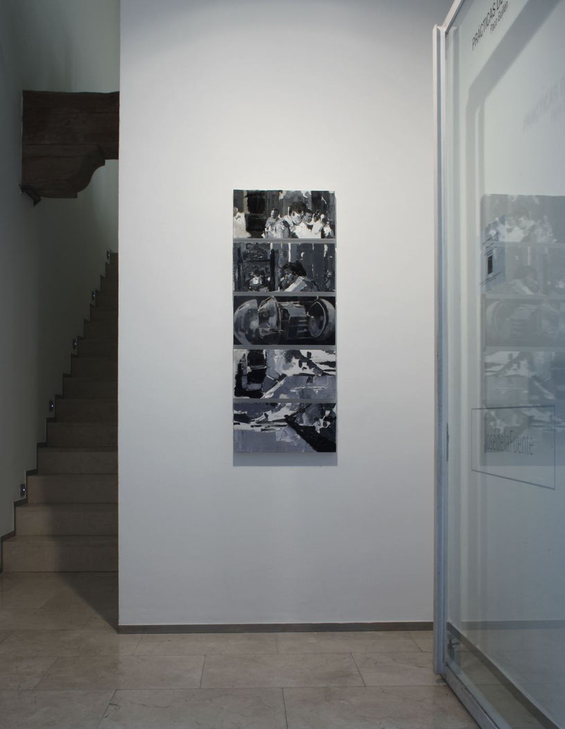 Oxímoron. Installation view at JosédelaFuente gallery. 2017