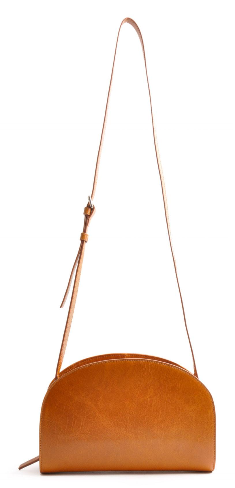 Handarbeit Ledertasche ZOE cognac  German Design OSTWALD Traditional Craft