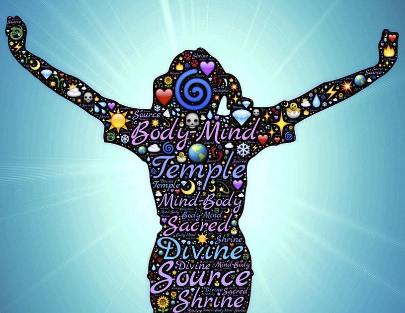 Mein Körper ist mein Tempel, Körper Geist und Seele, Körpertherapien, Körperbewusstsein