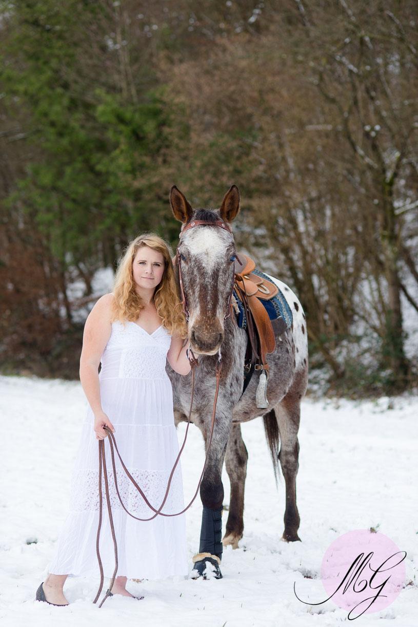 Tierfotos, weide, Pferd, Jasmin, Baldauf, Fotograf, Portrait, Shooting, Schnee