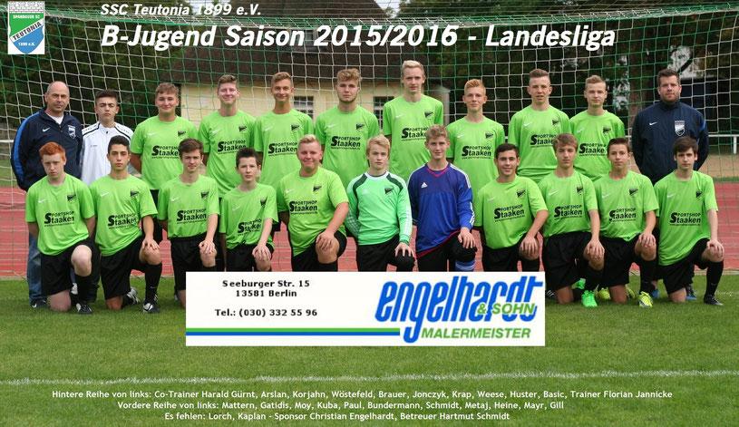 B1 Saison 2015/2016