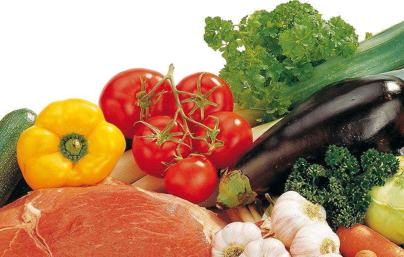 Meditterranes Gemüse mit Kalbfleisch