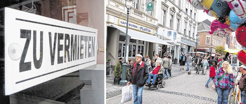 Viele Lokale im Steinweg fristen ein trauriges Dasein - der Leerstand ist weiterhin hoch. Allerdings: Der Einzelhandel hat Potenzial, wie unter anderem das Frühlingsfest beweist.Fotos: B. Zilkens/Archiv