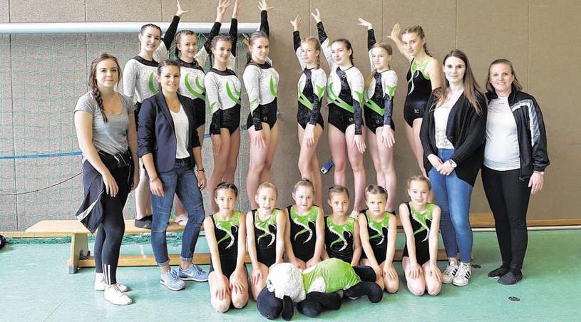 Die Turnerinnen aus Breinig konnten bei den Regionalmeisterschaften gute Ergebnisse einfahren. Foto: C. Gottschalk