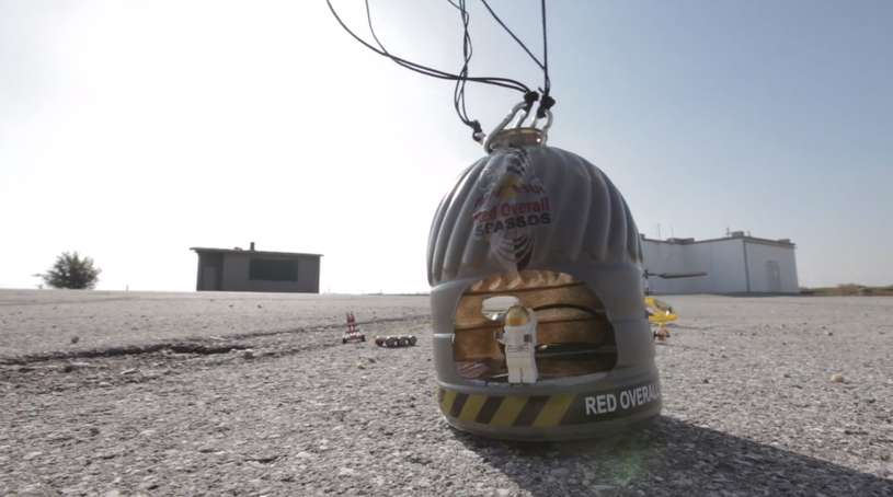 Red Bull Spacejump Felix Baumgartner Lego