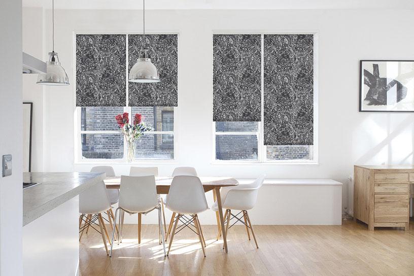 Рулонные шторы из ткани Авенсис