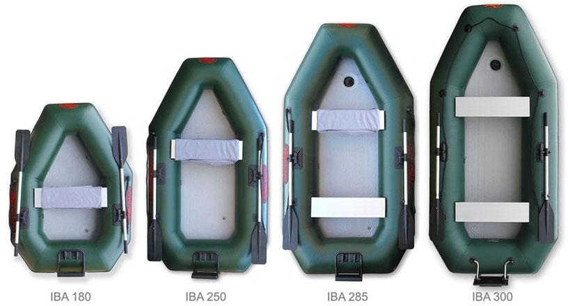 gommoni Alpuna Nautic serie IBA