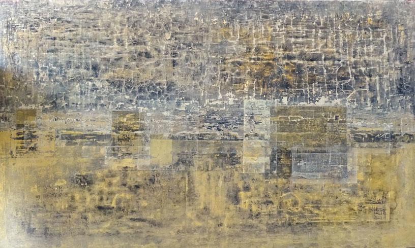 Cambio Climatico - acrílico sobre lienzo - 140 x 90 x 3cm