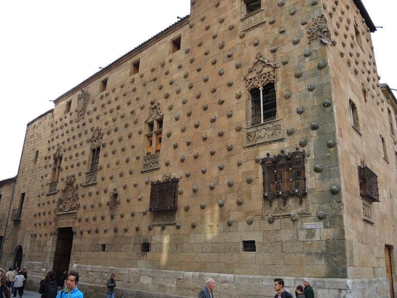 Casa de la Conchas. Ein Palast aus dem 15. Jh