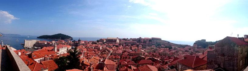 Dubrovnik Stadtmauer auf eigene Faust