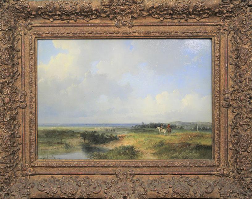 te_koop_aangeboden_een_militair_kunstwerk_van_de_nederlandse_kunstschilder_josephus_gerardus_hans_1826-1891_hollandse_romantiek
