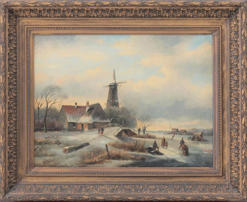 te_koop_aangeboden_een_wintergezicht_van_de_kunstschilder_marinus_cornelis_thomas_vermeulen_1868-1941_hollandse_school