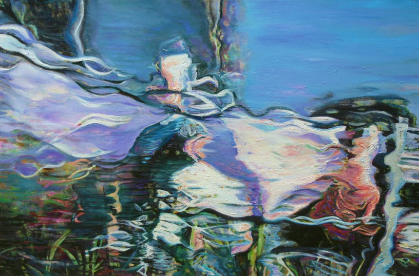 Susanne Scholz, aus der Serie Spiegelungen. Foto (c) & Courtesy: die Künstlerin.