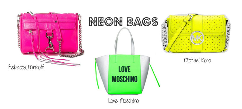 Neon Bags against Winter Blues | Depressions | Neon Taschen gegen Winterblues