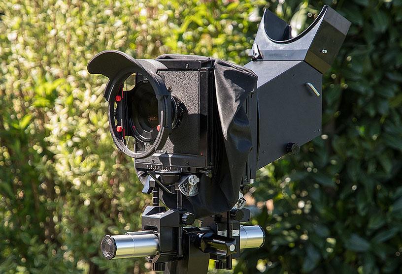Test Filterprotector von Manfred Zober-Frede mit analoger Großformatkamera: SINAR F 4x5 inch mit Rodenstock Grandagon 6,8/90 mm, HAIDA Filterhalter 100 mm mit Grauverlauffilter und Filterprotector mit Weitwinkelblende. www.bonnescape.de