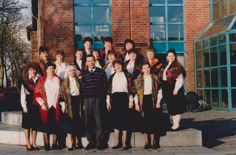 Ein Foto aus den Anfangsjahren – heute hat sich der Chor Rjabinuschka einen Namen gemacht.