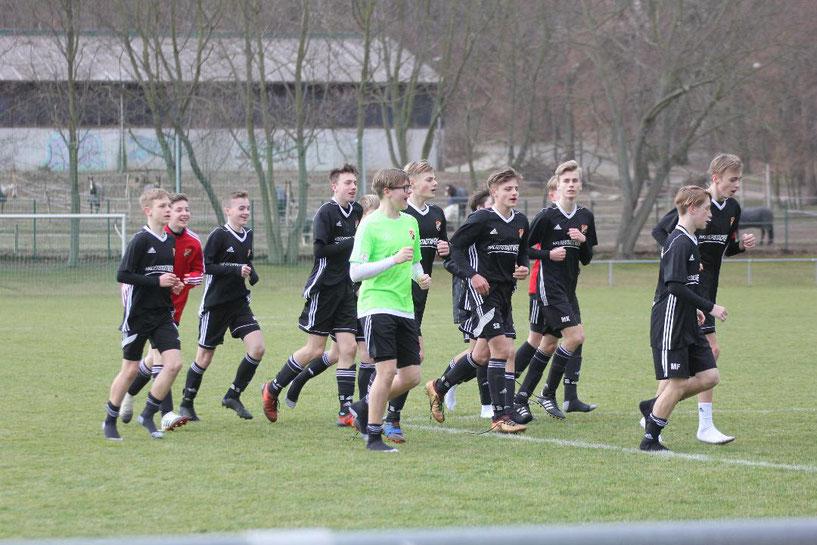 Germanias C1  Junioren siegen mit einer geschlossenen Mannschaftsleistung und viel disziplin gegen den Tabellenvierten mit 6:0!!