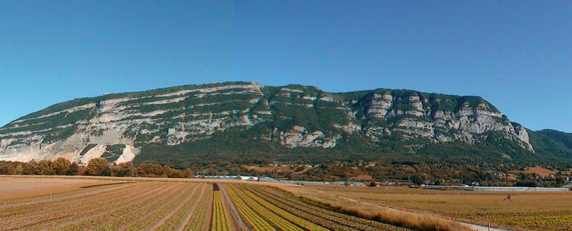Vue panoramique du Salève