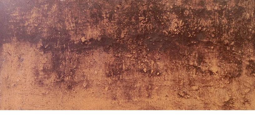 Muro - Acrilico sobre lienzo - 60H x 90W x 2cm - 2018