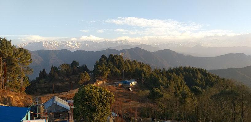 Ridge Trail Katmandu, Nepal, Chisopani