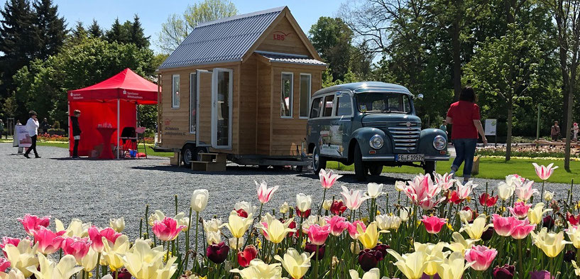LBS Tiny-House bei der Landesgartenschau