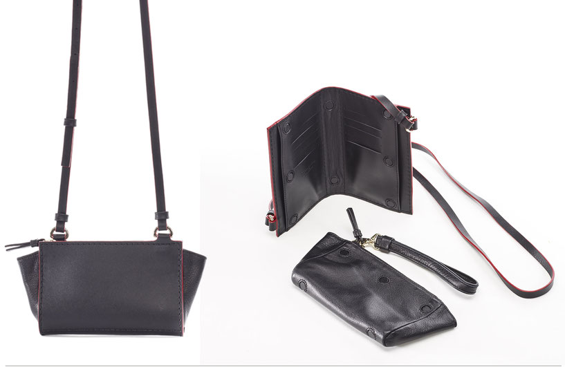 OWA Germany  _  SMART WALLET / SHOULDERBAG_ Finest Couture Craft _ Handcrafted in Germany  I owa-bags.com I