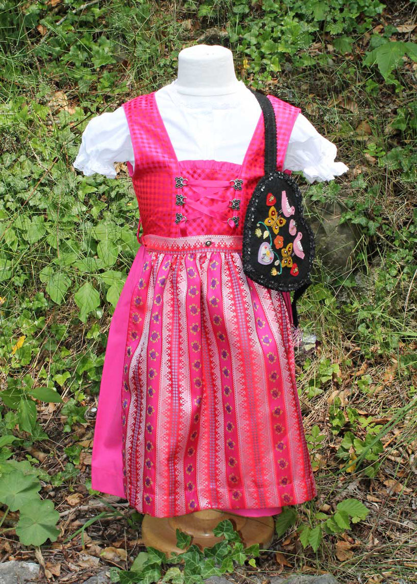 Second-Hand: Süßes Dirndl in Pink