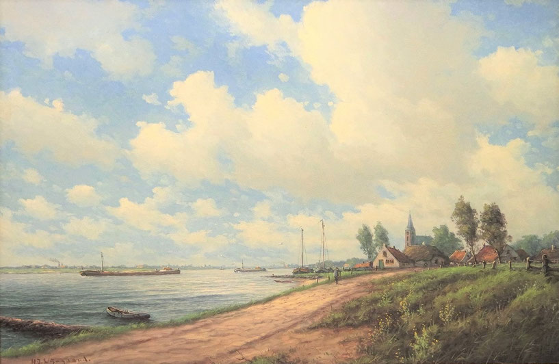 te_koop_aangeboden_een_olieverfschilderij_van_de_kunstschilder_hermanus_jozef_wijngaard_1922-2012