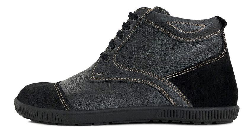 Senmotic barefoot shoes - Alpin Winter H1 Black/Camel