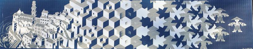 Kunstwerk von M.C. Escher